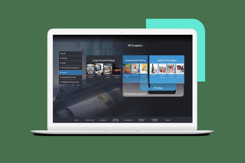 HP PWP sales tool Screenshot