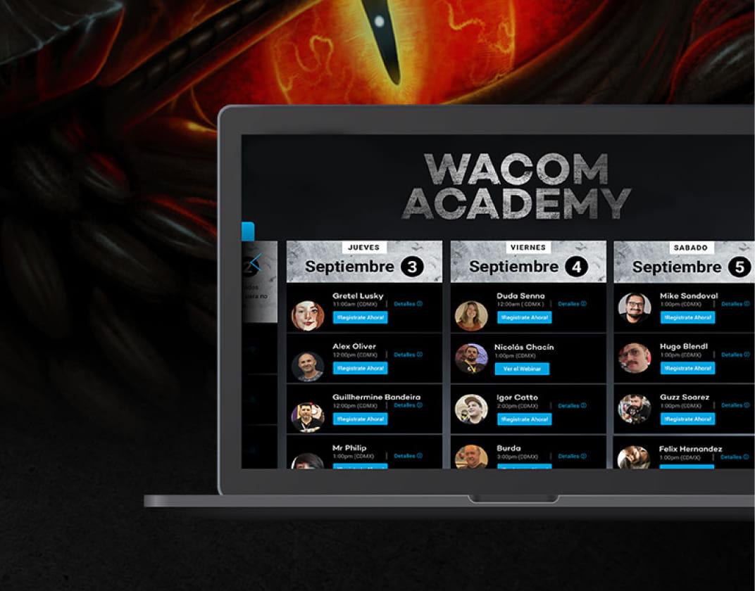 Wacom Academy e-Fest